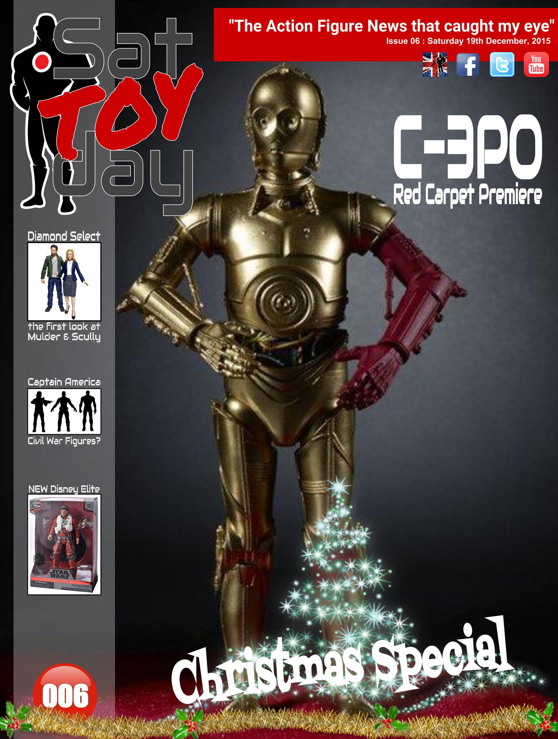 006 Action Figure Sat-TOY-day News, 19th December 2015