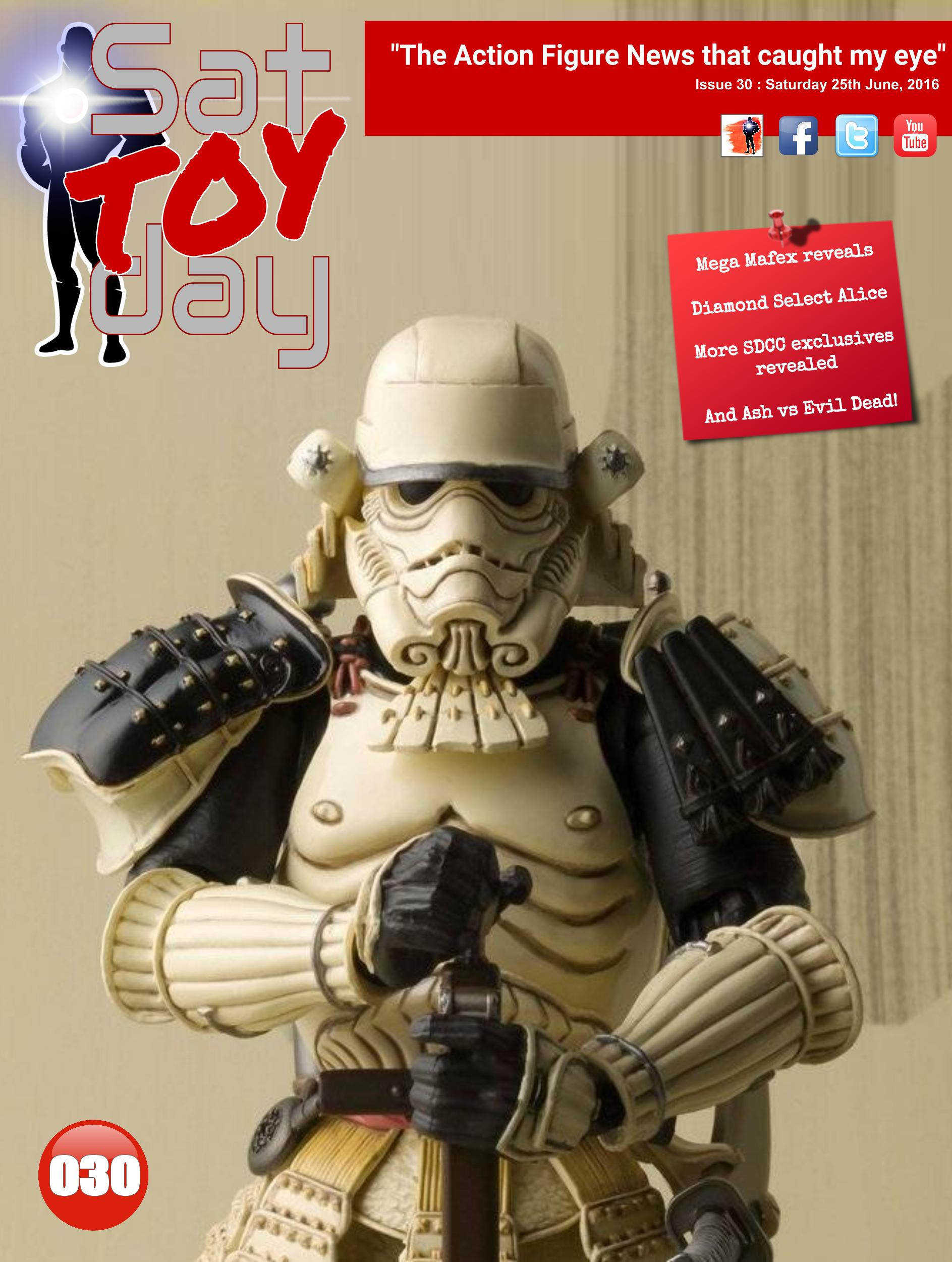 030 Action Figure Sat-TOY-day News, 25th June 2016