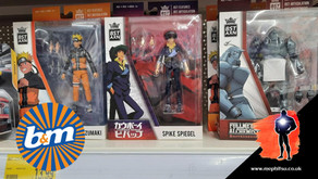 On The Pegs : B&M Stores - BST AXN, Bendyfigs and Halo from WCT