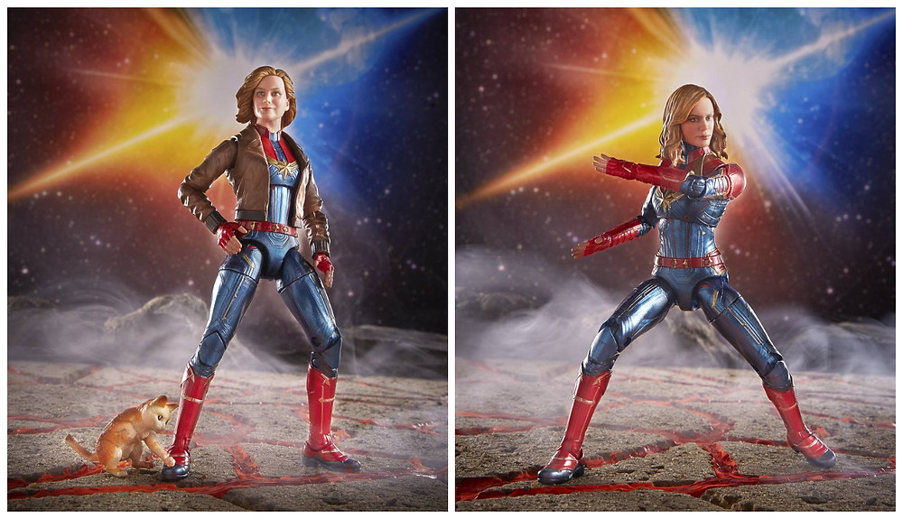 Captain Marvel Marvel Legends Action Figures wave