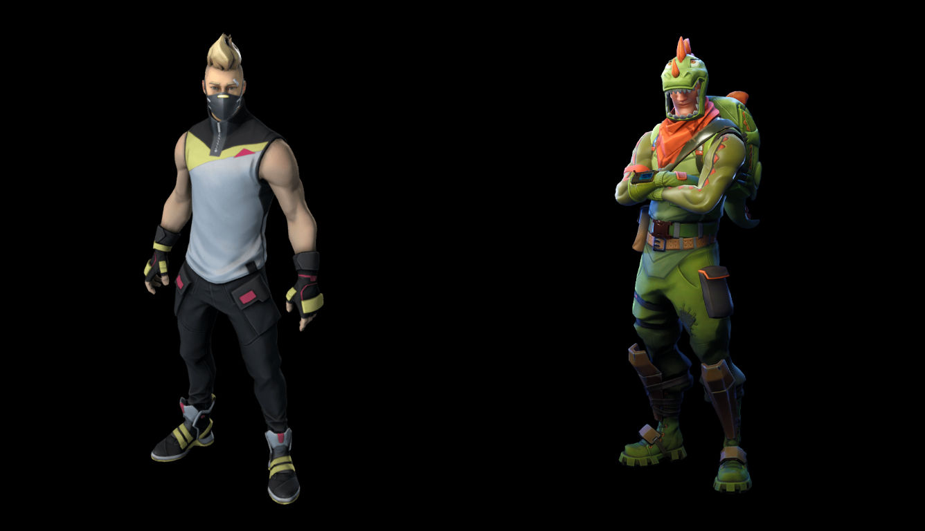 Mcfarlane Fortnite Action Figures Of Drift And Rex Announced
