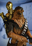 Star Wars Black Series Chewbacca and C-3