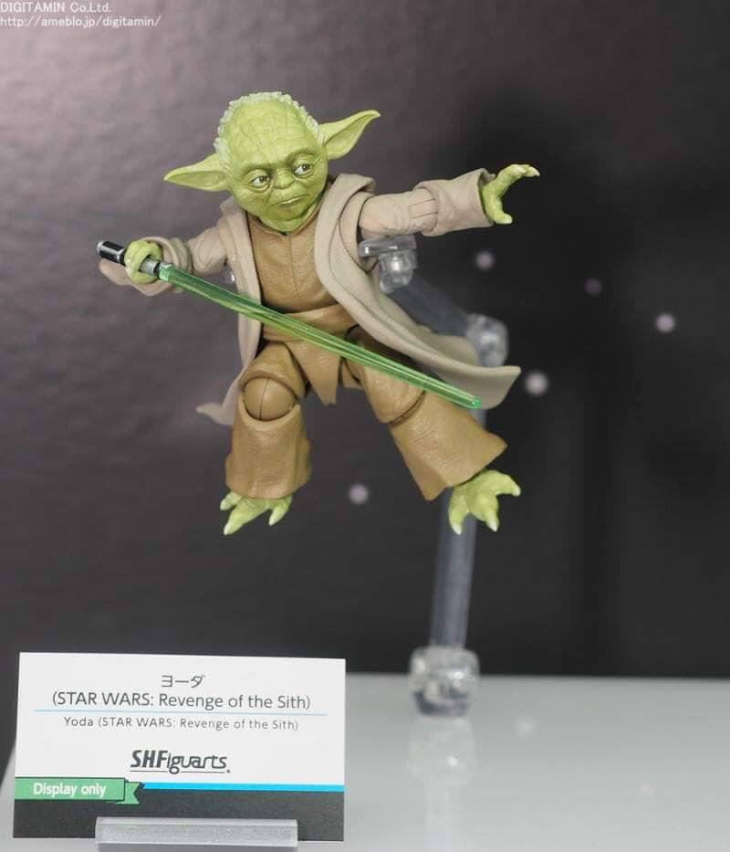 Sh Figuarts Star Wars Revenge Of The Sith Yoda