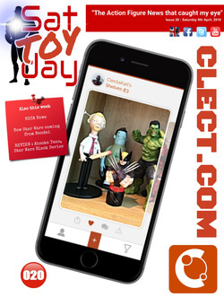 020 Action Figure Sat-TOY-day News, 9th April 2016