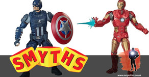 Smyths Toys UK listing Marvel Legends Gamerverse figures for 1st April 2020 arrival