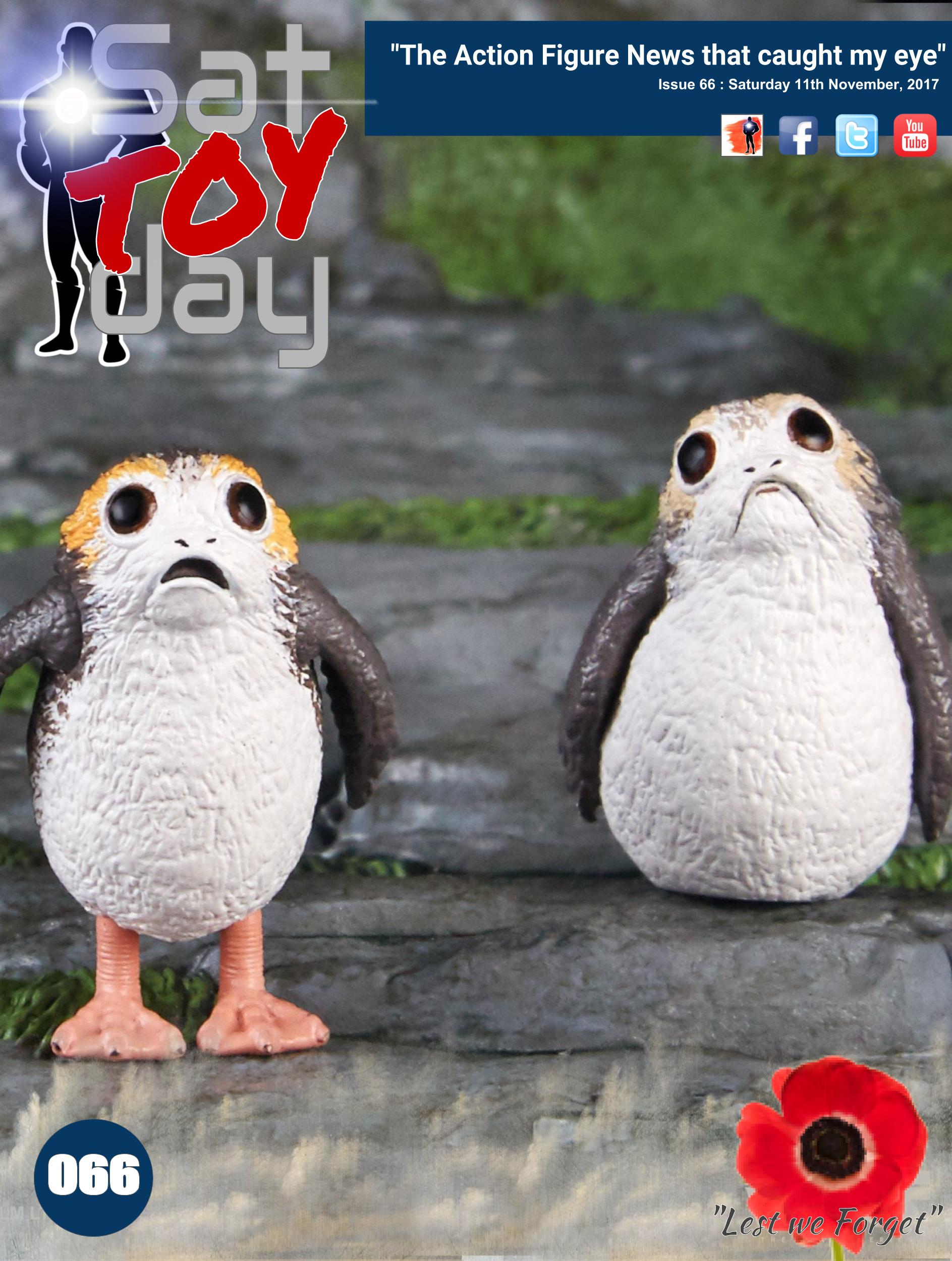 066 Action Figure Sat-TOY-day News, 11th November 2017