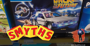 On The Pegs : Smyths Toys - Back to the Future, Star Wars and DC Multiverse