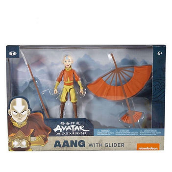 Aang with Glider