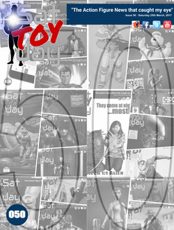 050 Action Figure Sat-TOY-day News, 25th March 2017