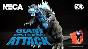 Review : NECA Godzilla (2001), Giant Monsters all out Attack