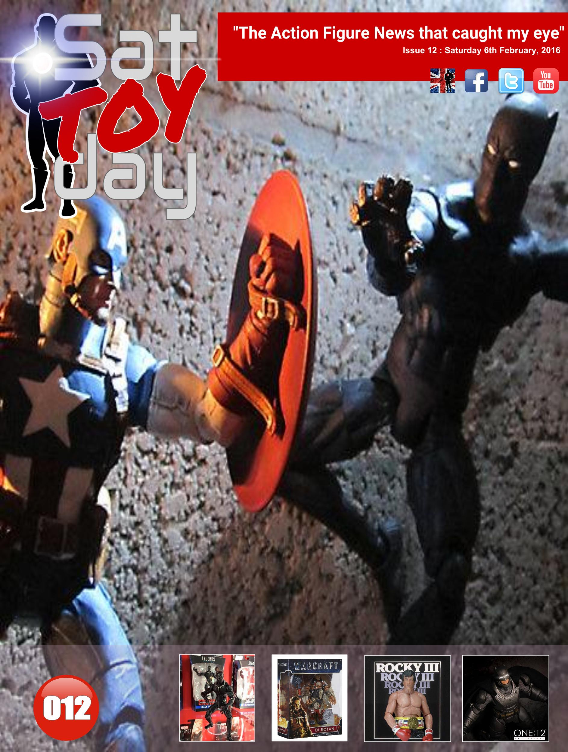012 Action Figure Sat-TOY-day News, 6th February 2016