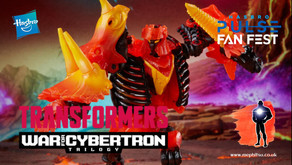 Hasbro Pulse Fan Fest, Transformers War for Cybertron : Kingdom, Deluxe Tricranius and Power Blasts