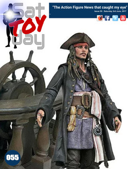 055 Action Figure Sat-TOY-day News, 3rd June 2017