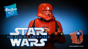 Review : Star Wars Black Series Sith Jet Trooper, The Rise of Skywalker