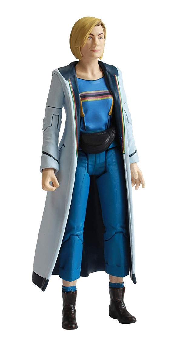"""13th Doctor Jodie Whittaker Blue Top Doctor Who 5.5/"""" Action Figure NEW 2020"""