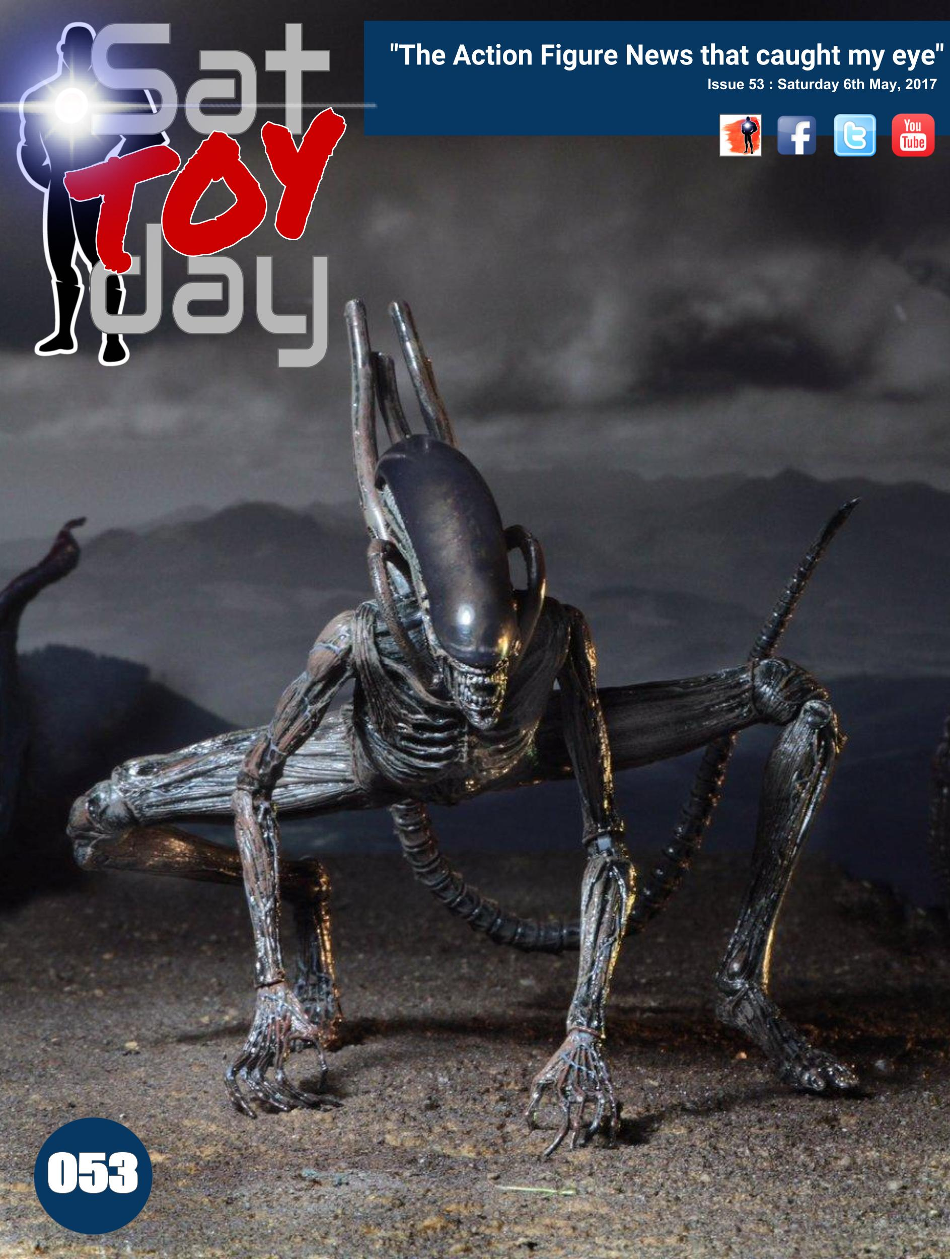 053 Action Figure Sat-TOY-day News, 6th May 2017