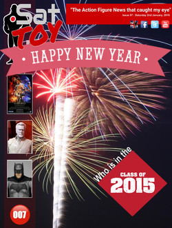 007 Action Figure Sat-TOY-day News, 2nd January 2016