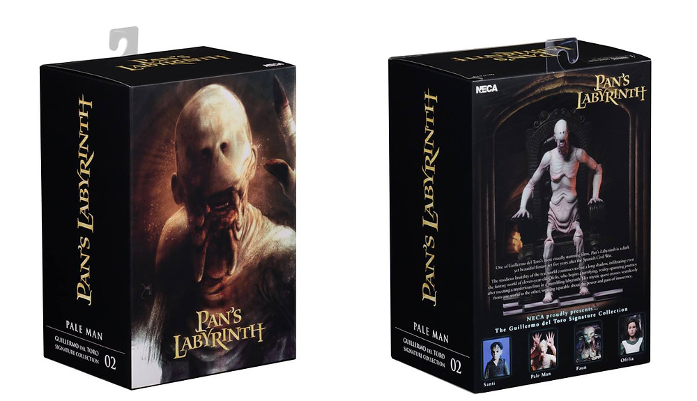 neca guillermo del toro pale man action figure pans labyrinth