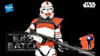 Review: Star Wars Black Series Clone Shock Trooper, The Bad Batch