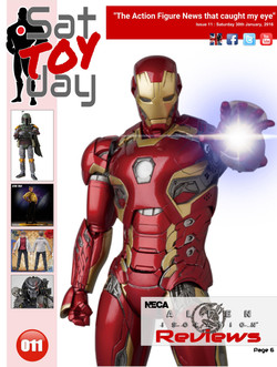 011 Action Figure Sat-TOY-day News, 30th January 2016