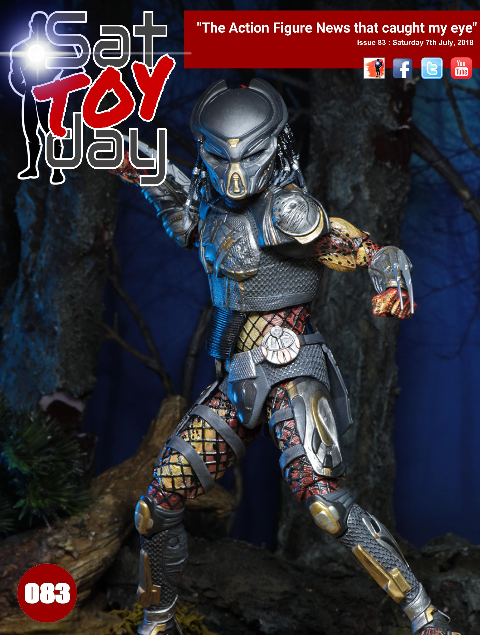 083 Action Figure Sat-TOY-day News, 7th July 2018