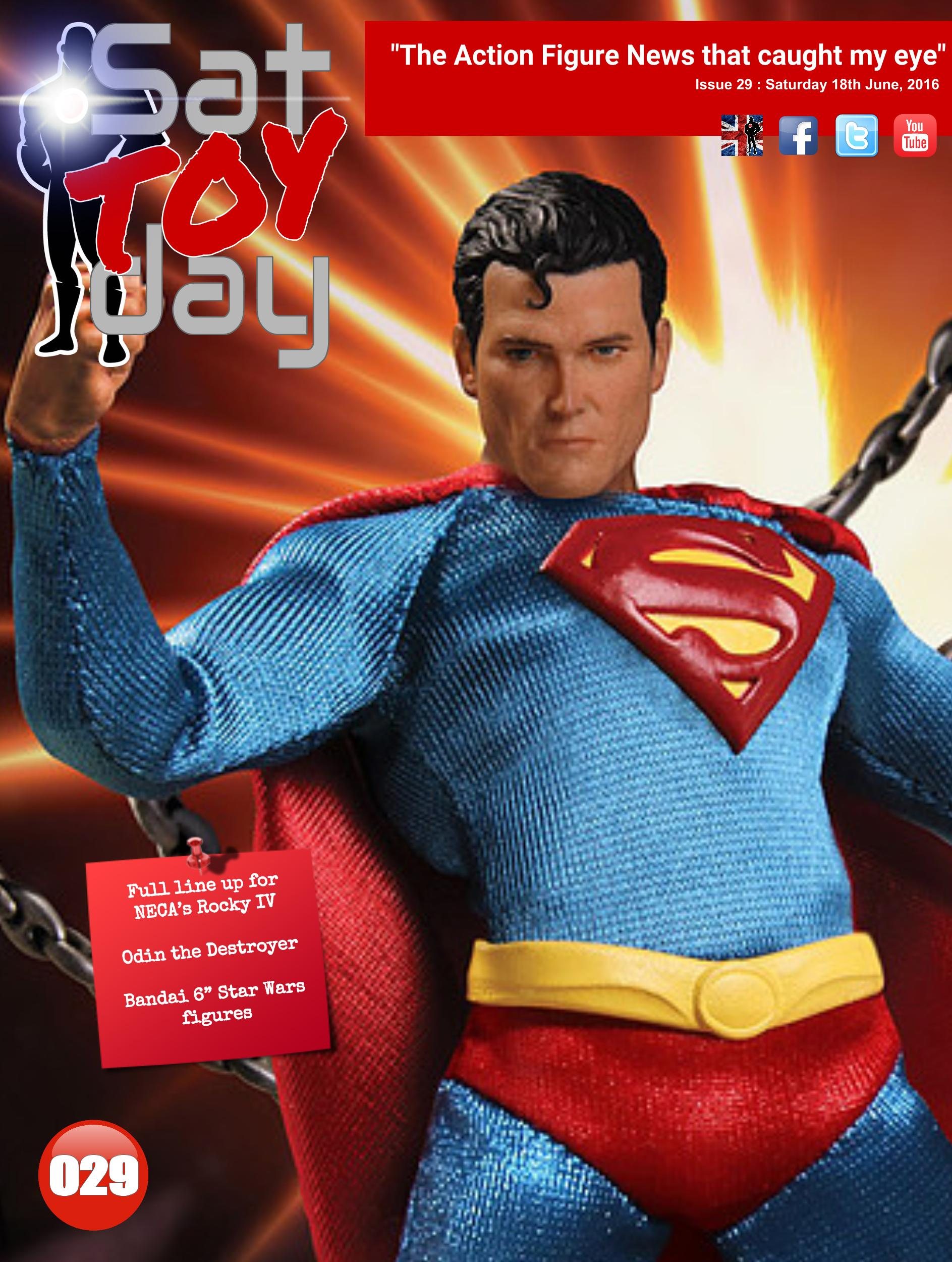029 Action Figure Sat-TOY-day News, 18th June 2016