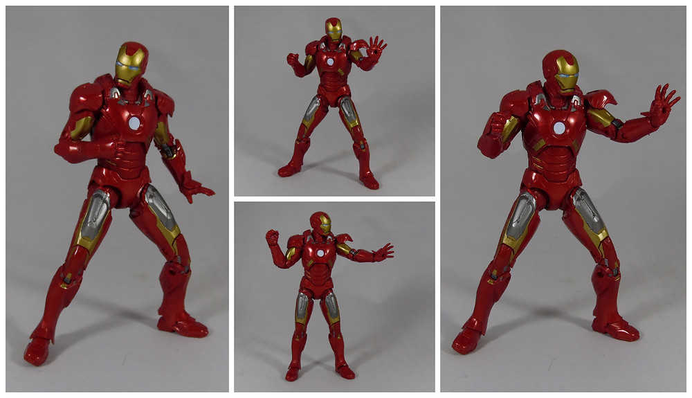 Review of the Marvel Legends The First Ten Years Iron-Man Mk7 Action Figure from Avengers Assemble