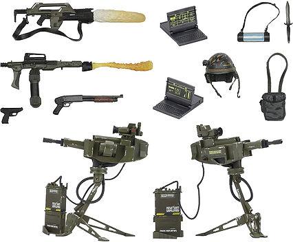 Aliens Marines Arsenal Set