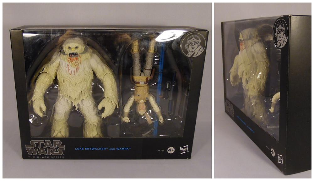 Star Wars Black Series Hasbro Luke Skywalker Hoth and Wampa, Action Figures, Review