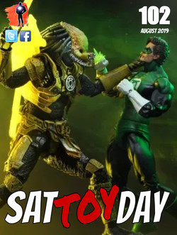 102 Action Figure Sat-TOY-day News, Augu