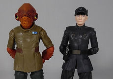 Star Wars Black Series Admiral Ackbar and First Order Officer