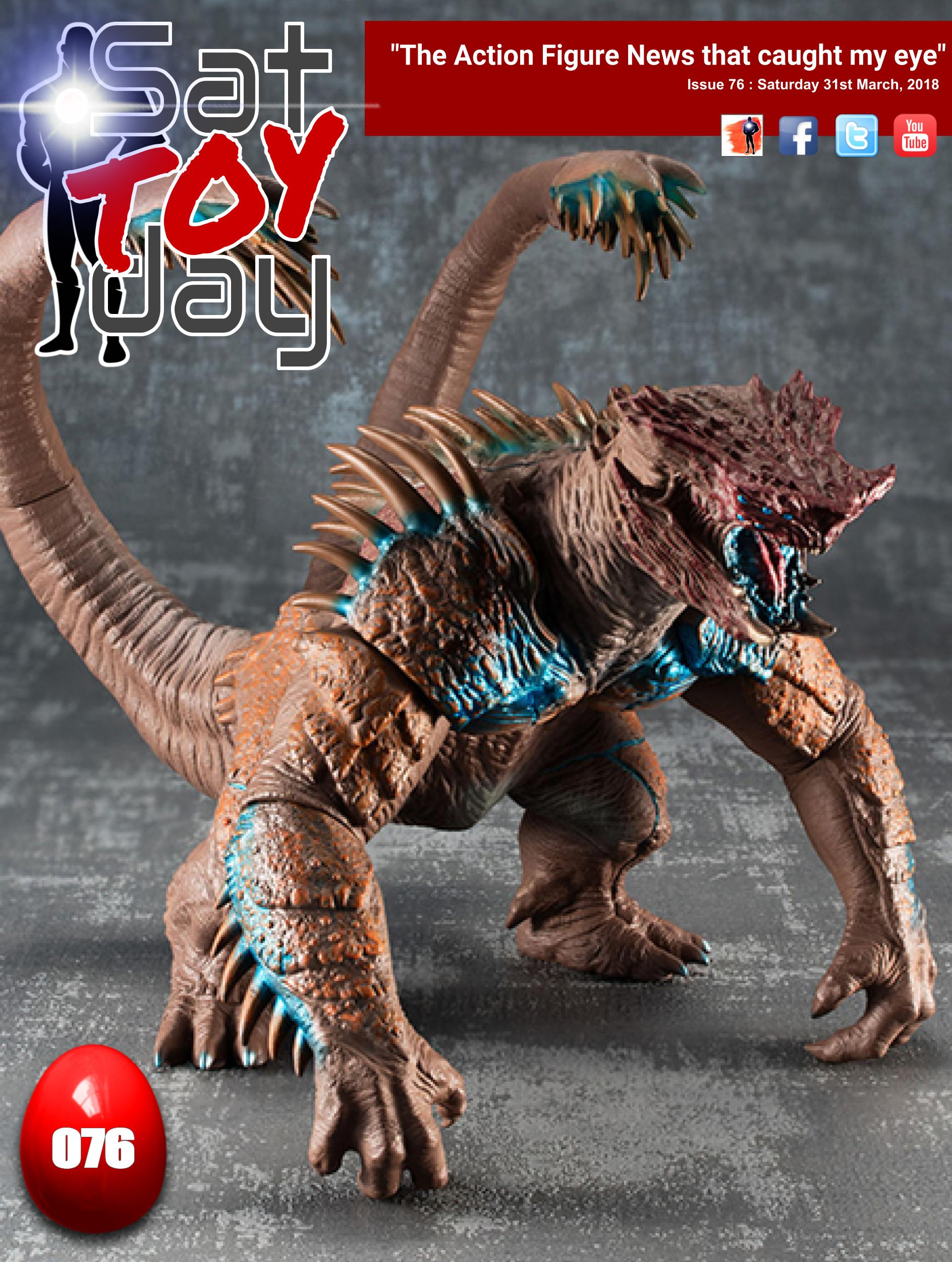 076 Action Figure Sat-TOY-day News, 31st March 2018