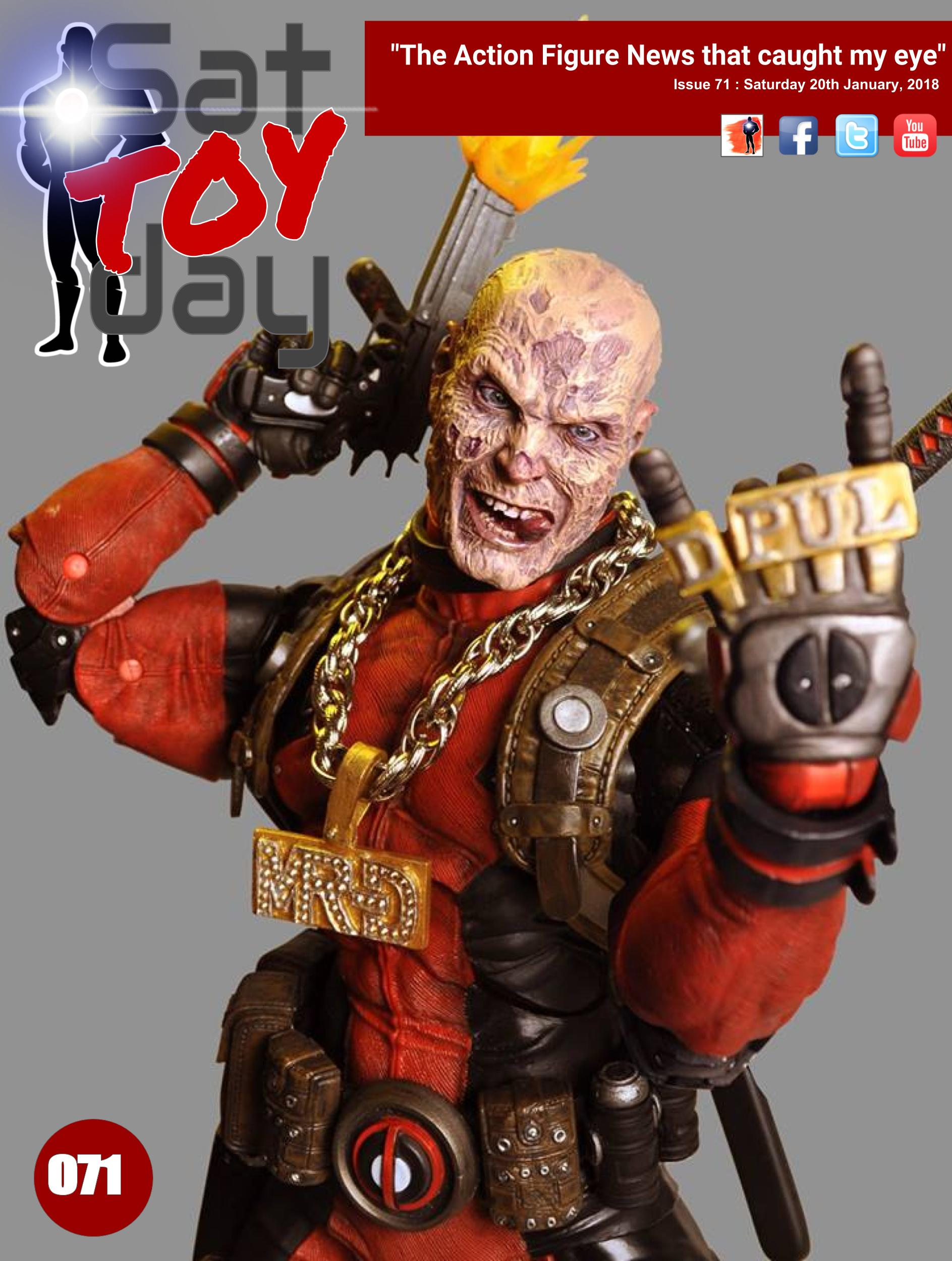 071 Action Figure Sat-TOY-day News, 20th January 2018