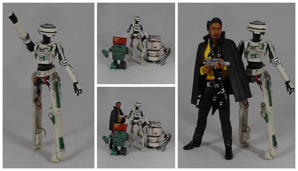 Review of the 6 inch Star Wars Black Series L3-37 Action Figure from Solo A Star Wars Story