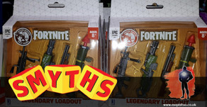 On the Pegs : Jazwares Fortnite at Smyths, including new Legendary Loadout accessory sets