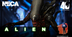 Review : NECA The Alien (Bloody) Alien 40th Anniversary