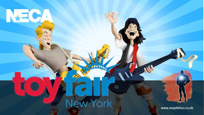 NECA launch Toony Classics line with Bill and Ted & Bob Ross (Toy Fair 2020)