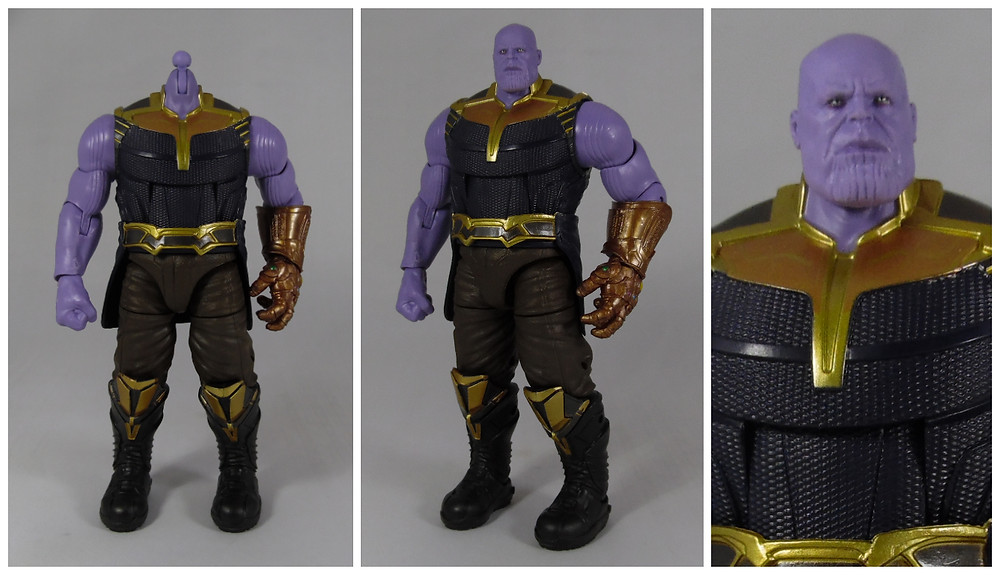 Marvel Legends Hasbro Infinity War Thanos Action Figure, Review