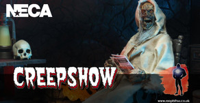NECA Creepshow action figure - promo gallery and packaging reveal