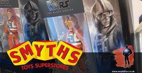 On the Pegs : Smyths Toys, Star Wars, Fortnite and Aliens