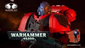 McFarlane Warhammer 40k Blood Angels Hellblaster and artist proof Marine & Battle Sister