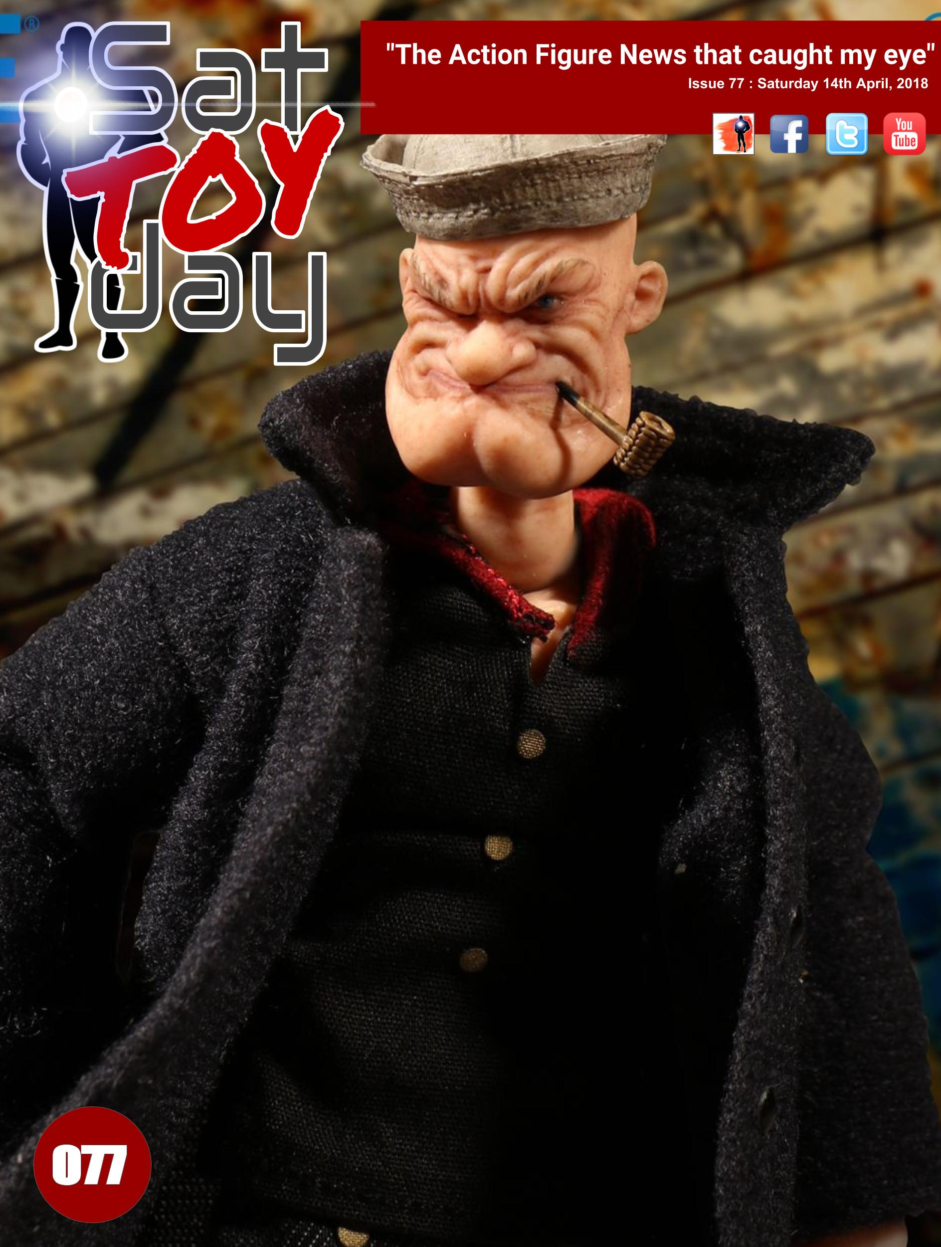 077 Action Figure Sat-TOY-day News, 14th April 2018