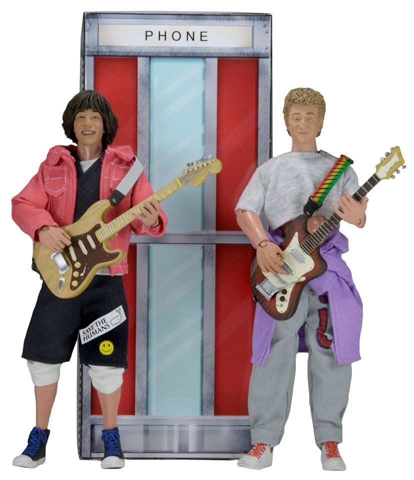 neca bill and ted action figures