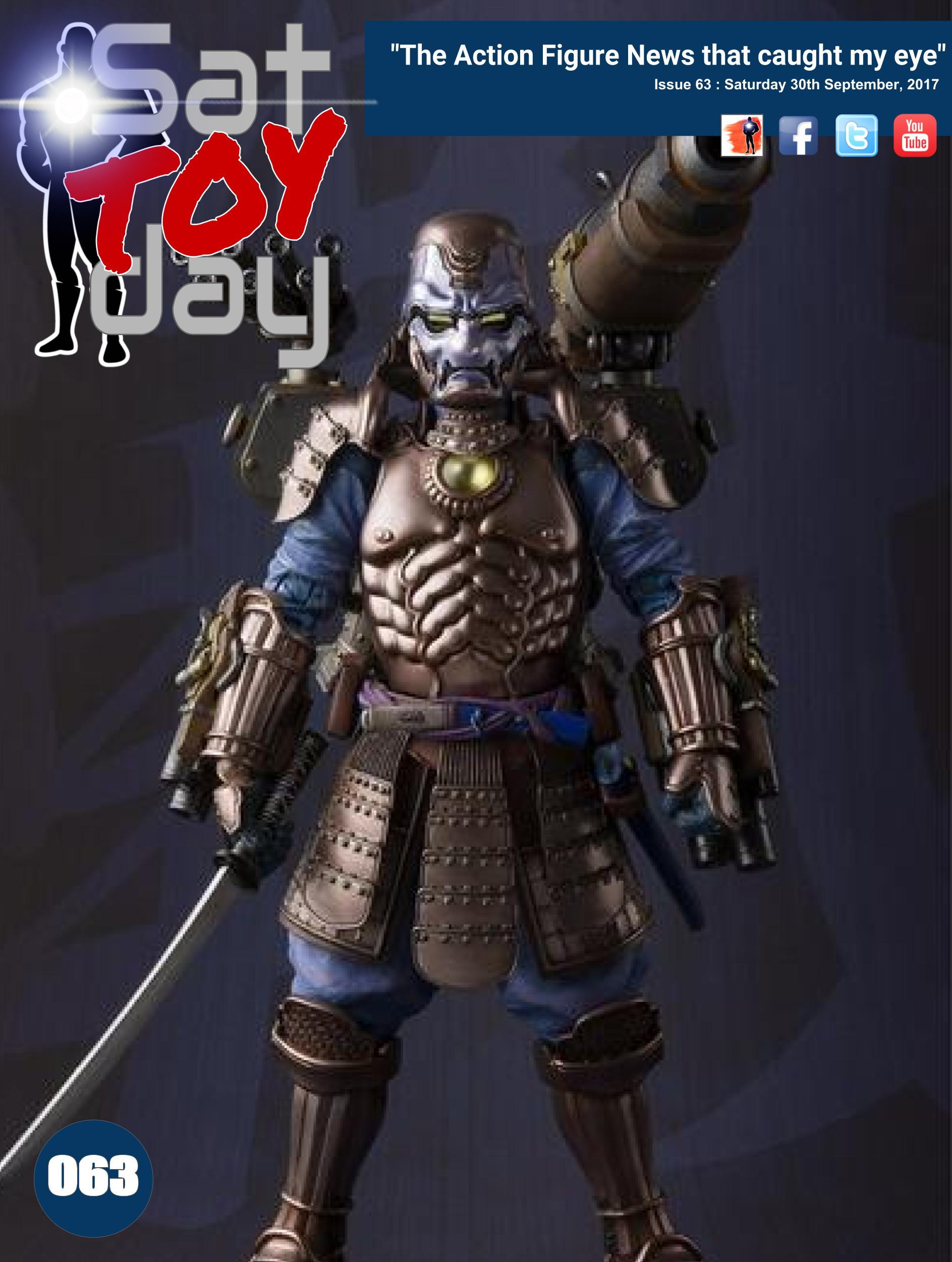 063 Action Figure Sat-TOY-day News, 30th September 2017