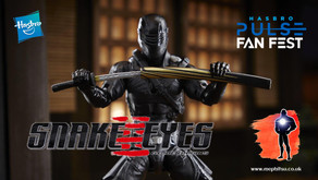Hasbro Pulse Fan Fest, GI Joe Classified Snake Eyes Movie Figures (Spoilers)