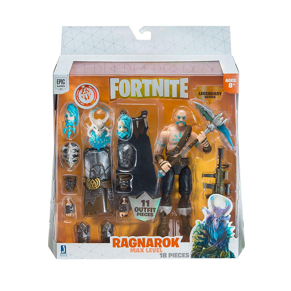 jazwares fortnite legendary series max level ragnarok action figure