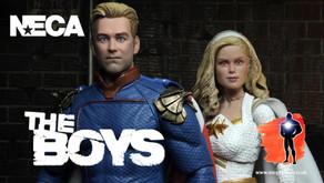 NECA Ultimate Homelander and Starlight, The Boys