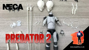 NECA behind the scenes image for Ultimate Lost Tribe Shaman Predator