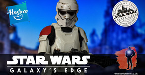 Review : Star Wars Black Series Mountain Trooper, Galaxy's Edge