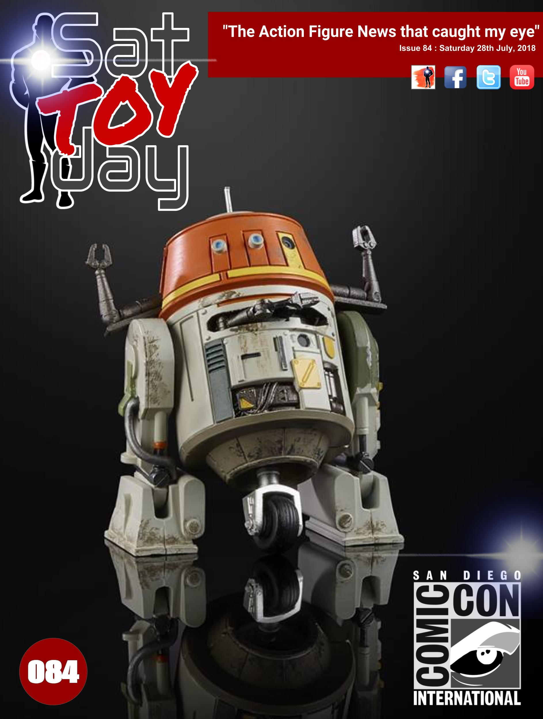 084 Action Figure Sat-TOY-day News, 28th